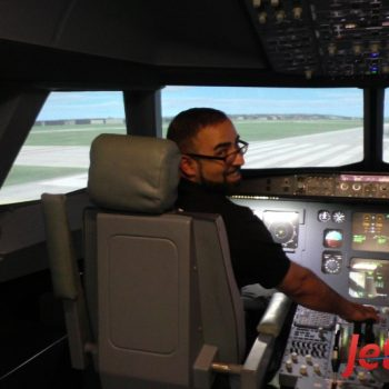 Auch Volkan war mit JetSim und dem Simulator vollends zufrieden