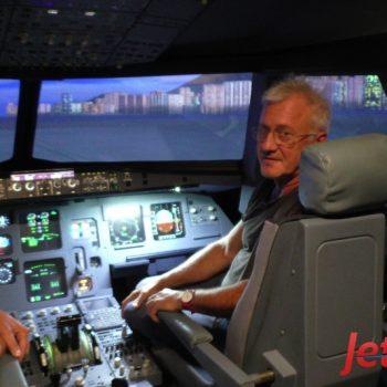 Ein Erlebnis für jung und alt - hier ein älterer JetSim-Pilot