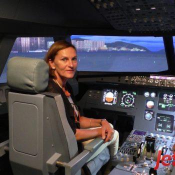 Auch Paare sind bei JetSim die Piloten