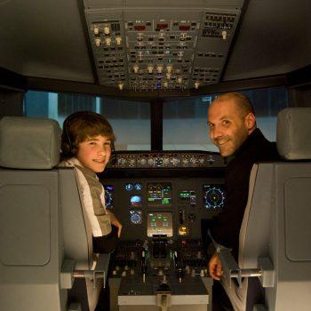 Flugsimulator-Erlebnis Berlin - ein Erlebnis für die ganze Familie