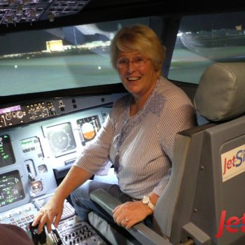 Erlebnis von Sabine in Berlin im Flugsimulator