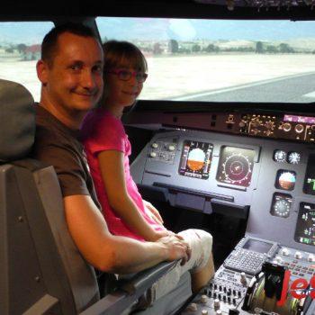 Ein tolles Event im Flugsimulator in Berlin für Bernhard und seine Familie