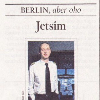 JetSim im Tagesspiegel